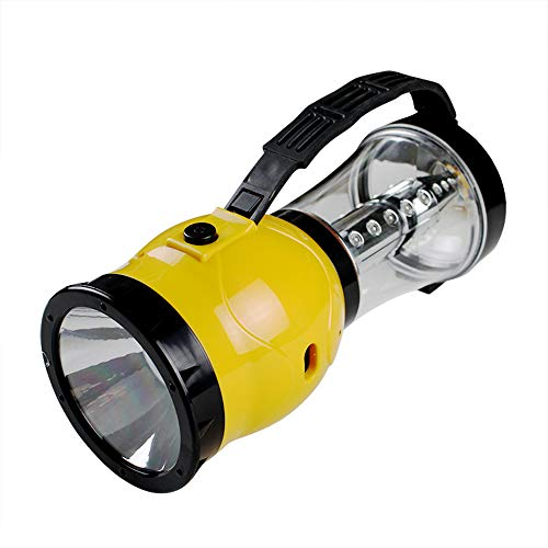 XZZ Outdoor Solar Camping Light, LED Rechargeable Tent Light Super Bright Lantern Camping Light Emergency Lighting Home,Yellow