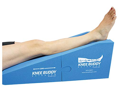 Knee Buddy Extender  Knee Elevation Pillow  Knee Extension  Leg Rest After Surgery  Multi-use Pillow for Recovery  In Home Rehab Aid  Multi-use Leg Knee Foot Pillow  Knee Surgery Pillo