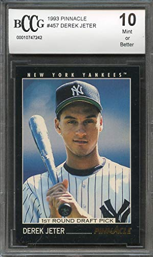 Amazoncom Derek Jeter Graded Bccg Mint Baseball Card