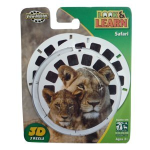 View-Master Safari Look & Learn Reels [Toy] Quality Deals 3Dstereo