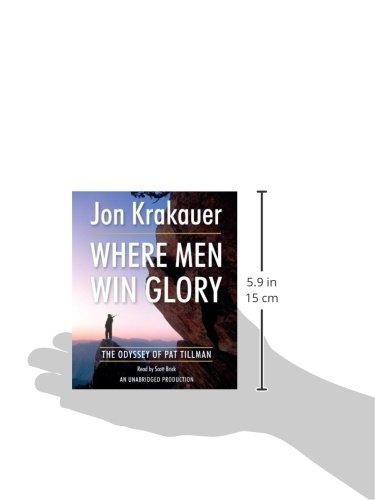 Where Men Win Glory: The Odyssey of Pat Tillman by Random House Audio
