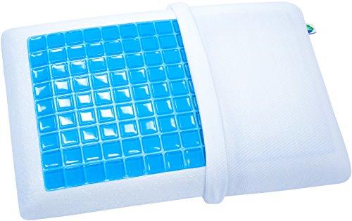 pharmedoc-cooling-gel-memory-foam-pillow-standard-size-premium-bedding-soft-breathable-comfort-cushi