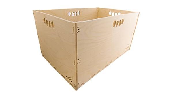 MK Design - Caja de Herramientas de Madera (Alta Resistencia, 60 x ...