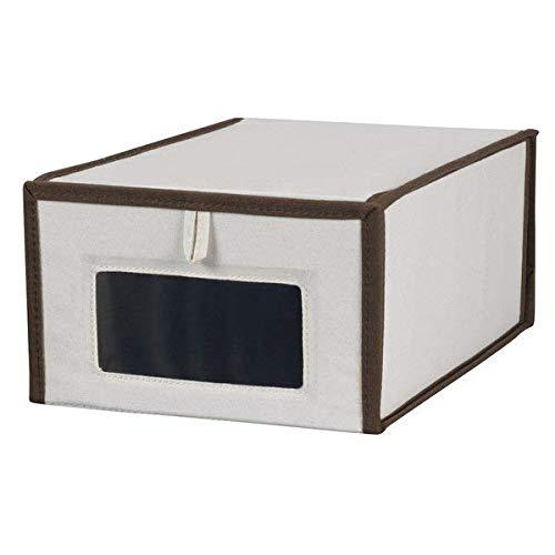 Latitude Run Vision Poly-Cotton Canvas Shoe Box, White + Free Basic Design Concepts Expert Guide from Latitude Run