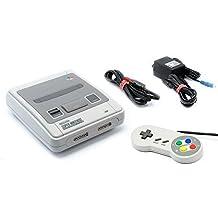 original Super Nintendo SNES PAL console + 3rd party PAL controller