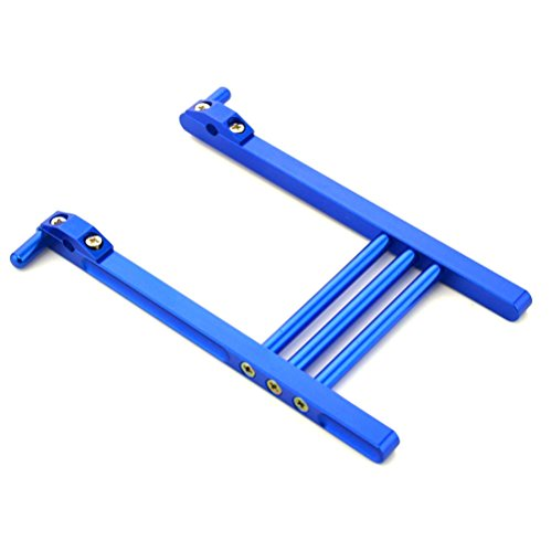 RipaFire® Aluminum Alloy TX Transmitter Stand Bracket Holder for RC Futaba JR Flysky Transmitter Remote Control(Blue) (Jr Rc Control)