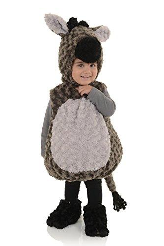 Baby Donkey Halloween Costume (Underwraps Kid's Baby's Donkey Costume, Medium Childrens Costume, Gray,)