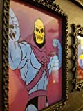 SKELETOR Live Laugh Love Picture Frame, Funny Photo