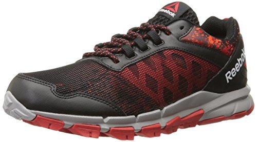 Reebok Men's Trail Warrior Outdoor Shoe, Black/Motor Red/Atomic Red/Tin Grey/White, 9.5 M US Review