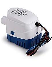 OurLeeme Bilge Pompen, 12V 1100GPH Automatische Bilge Pomp Marine Dompelpomp Auto Silent Vloeibare Pomp Waterpomp voor Boten, Vijvers, Zwembaden (1100GPH)