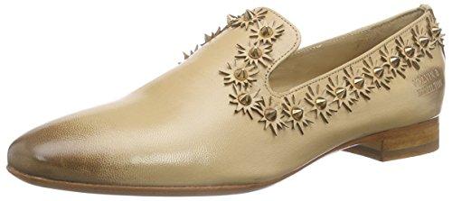 Melvin & Hamilton Claire 1, Women's Loafers Brown - Braun (Salerno Cappu Rivets Rose Gold, Ls Welt Black)