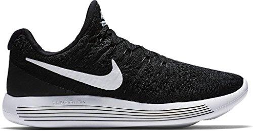 best authentic 1d60d 2d072 Nike Womens Lunarepic Low Flyknit 2 BlackWhiteAnthracite Running Shoe 9  Women US