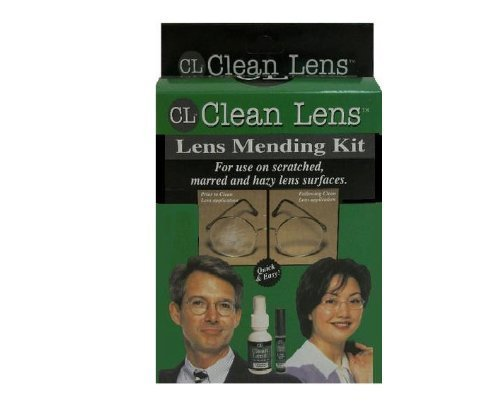Eyeglass Lens Mending Kit (for use on scratched, marred and hazy lens - Repair Eyeglass Scratched