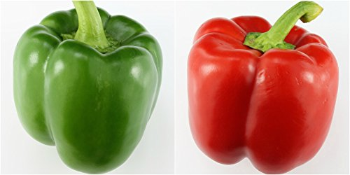 (RDR Seeds 100 Sweet Pepper Seeds California Wonder Bell Pepper)