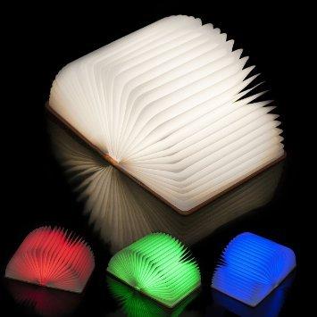 Lámpara LED plegable para escritorio o lectura nocturna, con ...