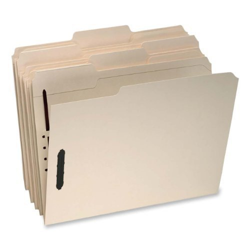 Pendaflex : MLA 2-Fastener Classification Folders with 1/3 Cut Tabs, Legal, 50/Box -:- Sold as 2 Packs of - 50 - / - Total of 100 Each by Pendaflex