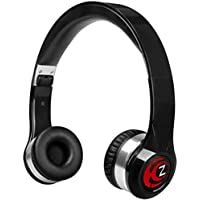 Krankz Wireless Bluetooth On-Ear Headphones (Black)