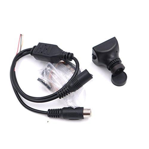 AN650SL HS1177 1/3`RCA QAV210クアドコプター用SONYスーパーHAD II CCD FPVカメラ600TVL 2.8mmレンズ