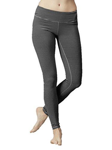 c6ceb06041eb4 Amazon.com: Zobha Women's Stripe Leggings: Sports & Outdoors