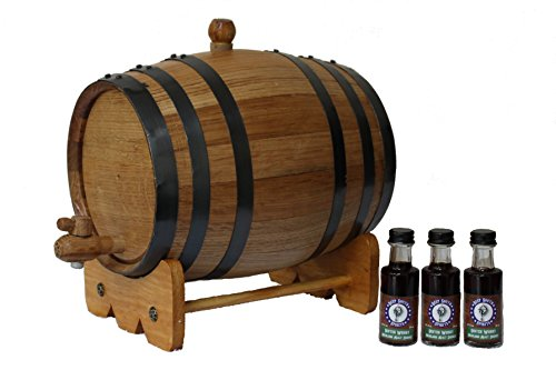 3-Liter American White Oak Barrel Whiskey Kit for sale  Delivered anywhere in USA