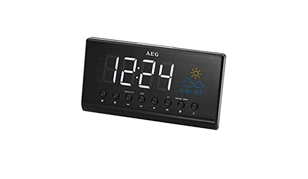 AEG Radio Despertador Proyector MRC4141P - Vendedores Amazon ...