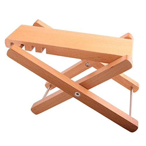 Firecolor Folding Guitar Footrest Classic Solid Wood Guitar Pedal Tool,1#