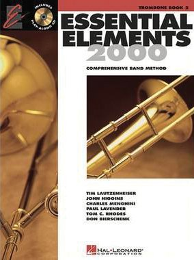 Essential Elements 2000: Trombone, Vol. 2 (CD Included) (Violin Music Sheet For A Thousand Years)