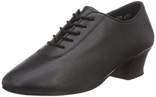 Diamant - Zapatillas de Baila Moderno y Jazz Hombre Negro - negro