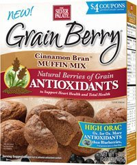 The Silver Palate Grain Berry Cinnamon Bran Muffin Mix - 15 Ounce Boxes - Pack Of 4