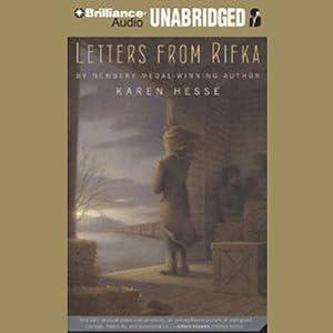 amazoncom letters from rifka audible audio edition karen hesse angela dawe brilliance audio books