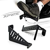 Xprite Jeep Front Foot Pegs for 2007-2018 Jeep Wrangler JK 2DR JKU 4DR - 1 Pair