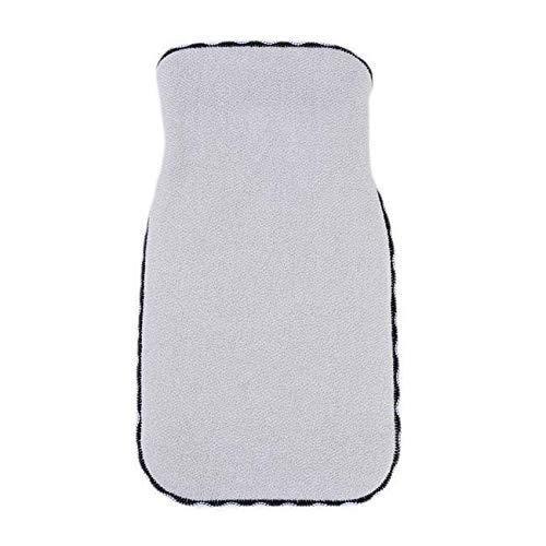 Bath Shower Glove Spa Two-sided Bath Body Cleaning Scrub Mitt Rub Tool Q (Colors - Khaki) (Eclipse Bottle Glove)