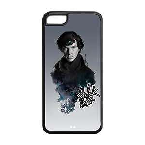 Custom Sherlock Cover Case for iPhone 5C LC-763 WANGJING JINDA