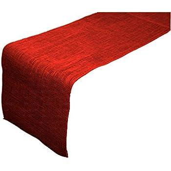 Merveilleux LA Linen 18 By 120 Inch Jute Burlap Table Runner / Pack Of 1 /