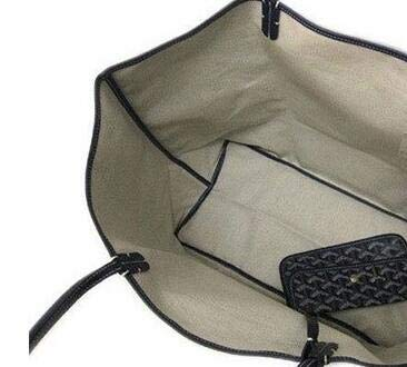 7c707e00512b ゴヤールバッグ トートバッグ レザー製 ポーチ付き 軽量 マザーズバッグ 大容量 紺色 [並行