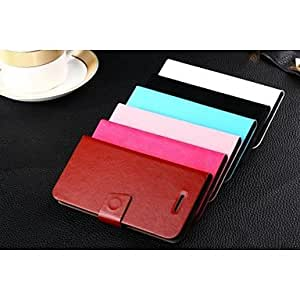 ZL Elegant PU Leather Full Body Case for iPhone 6 (Assorted Colors) , Black
