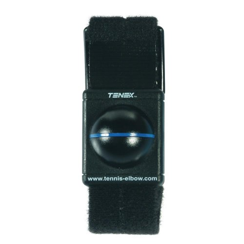 Tennex Elbow Shock Watch, Black by Tennex