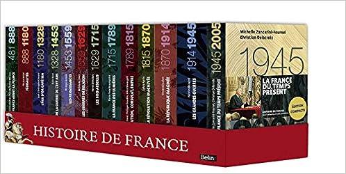Amazon Fr Coffret Histoire De France Joel Cornette Livres