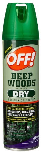 Off! Deep Woods Dry Aerosol Spray-4 oz. by (Deep Woods Aerosol)