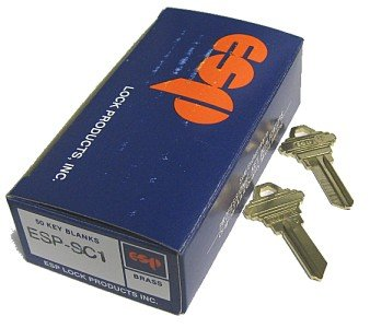 (Key blank, for Schlage SC1 5-Pin 50 per box)