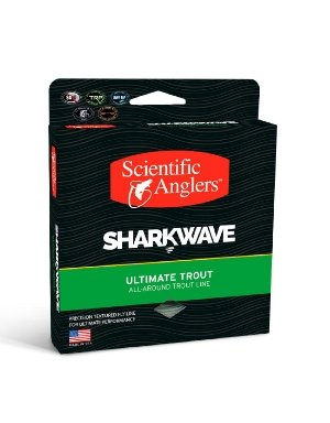 Scientific Anglers WF-8-F Sharkwave Trout Mist Fly Line, Green/Willow/Dark Willow