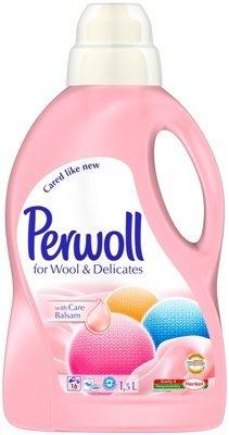 Perwoll Liquid - Perwoll for Wool & Delicates 1.5 L Bottle Case Lot of 4 Bottles
