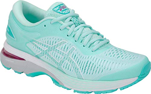 ASICS Gel-Kayano 25 Women's Running Shoe, ICY Morning/Seaglass, 5.5 M -