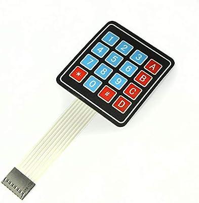 New 4 x 4 Matrix Array 16 Key Membrane Switch Keypad Keyboard for Arduino AVR