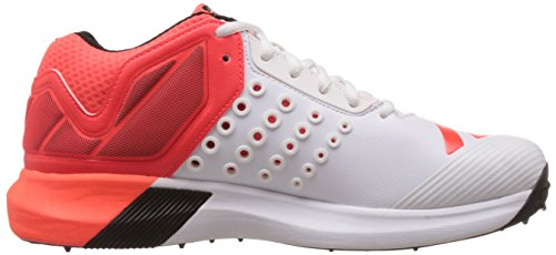 Adidas AdiPower Vector Mid Cut Cricket Shoes (Red)