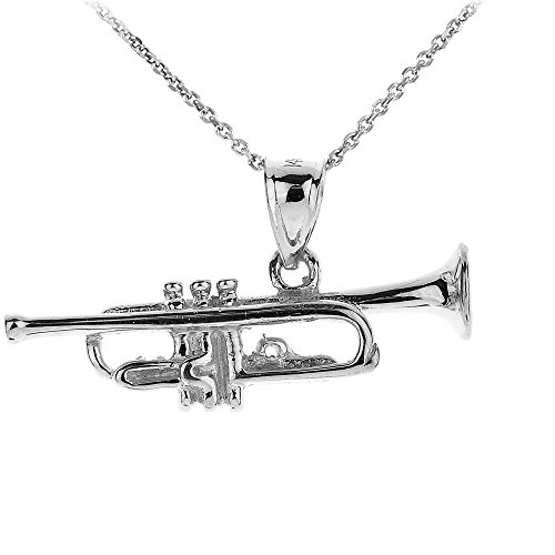 925 Sterling Silver Trumpet - 4