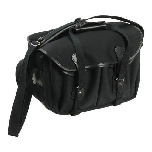 Billingham 335 Black Canvas Camera Bag with Black Leather Trim by Billingham (Image #1)