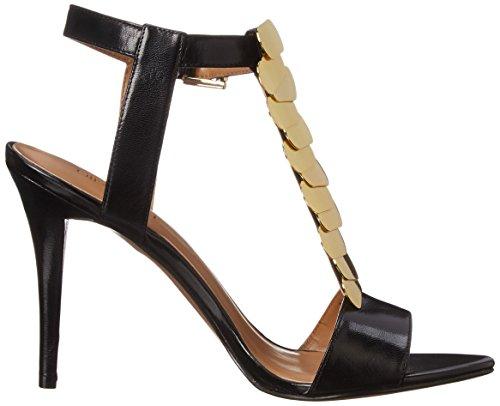 Nine West Nwdelgado - Sandalias de vestir para mujer, color negro, talla 38 EUR (70 USA)
