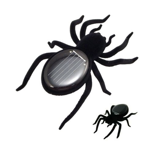 Solar Spider Tarantula Educational Robot Scary Insect Gadget Trick Toy - 1