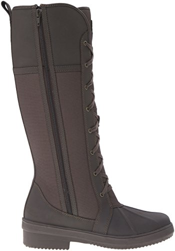 Clarks Womens Carima Pluma Snow Boot Brown Combo